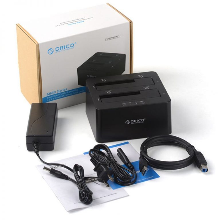 Box gắn 2/5/10 HDD/ Dock chép Karaoke, Usb 3.0, Hub, Card.. ORICO - 30