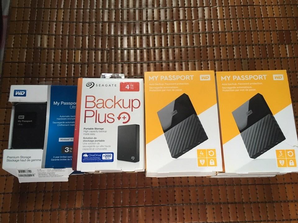 Về nhiều HDD 1T-> 5TB  WD, HItachi, Toshiba chính hãng 36T, giá cực tốt. - 2
