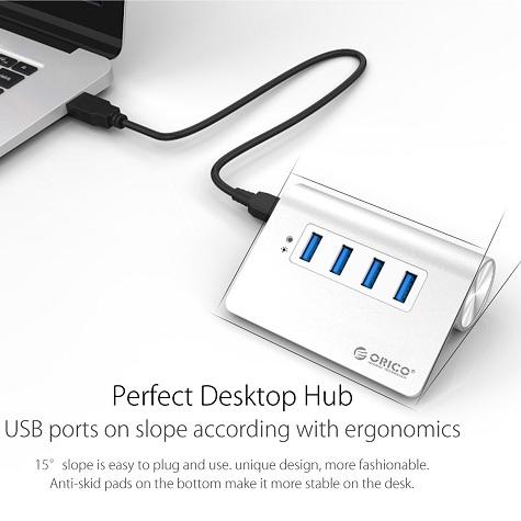 Box gắn 2/5/10 HDD/ Dock chép Karaoke, Usb 3.0, Hub, Card.. ORICO - 4
