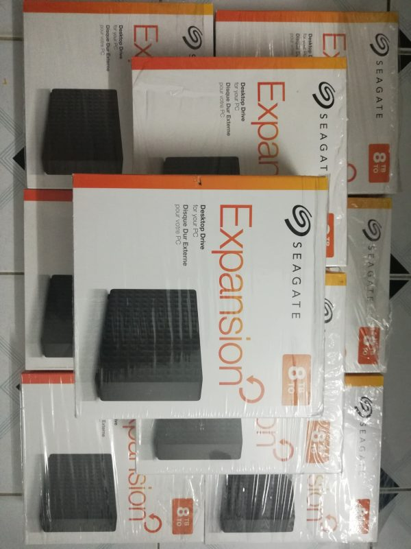 Box HDD Seagate Expansion 3.5 USB 3.0, hỗ trợ  HDD 12TB - 3
