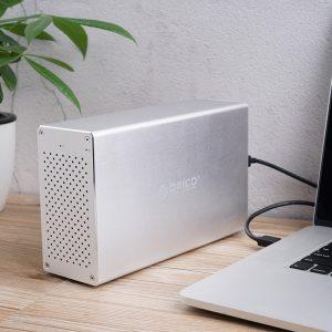 Box gắn 2/5/10 HDD/ Dock chép Karaoke, Usb 3.0, Hub, Card.. ORICO - 21